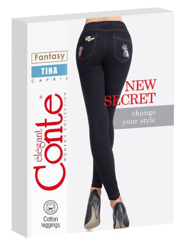 Conte Patch Fun jeggingsit long