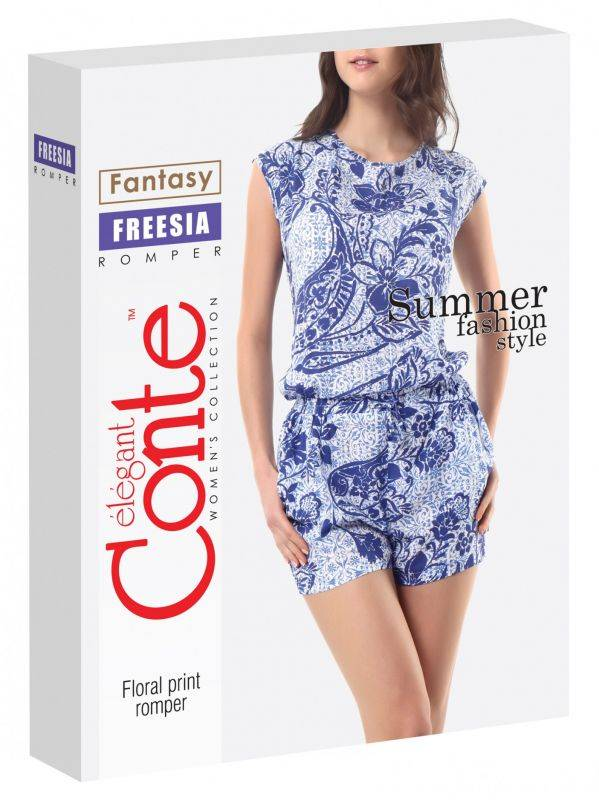 Conte Jumpsuit shortsiasu Freesia