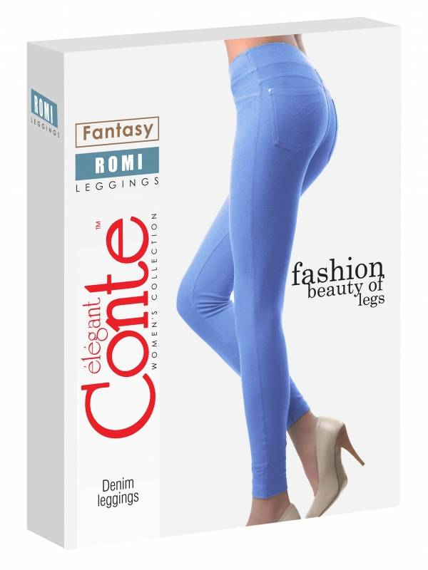 Conte Romi jeggingsit baby blue long