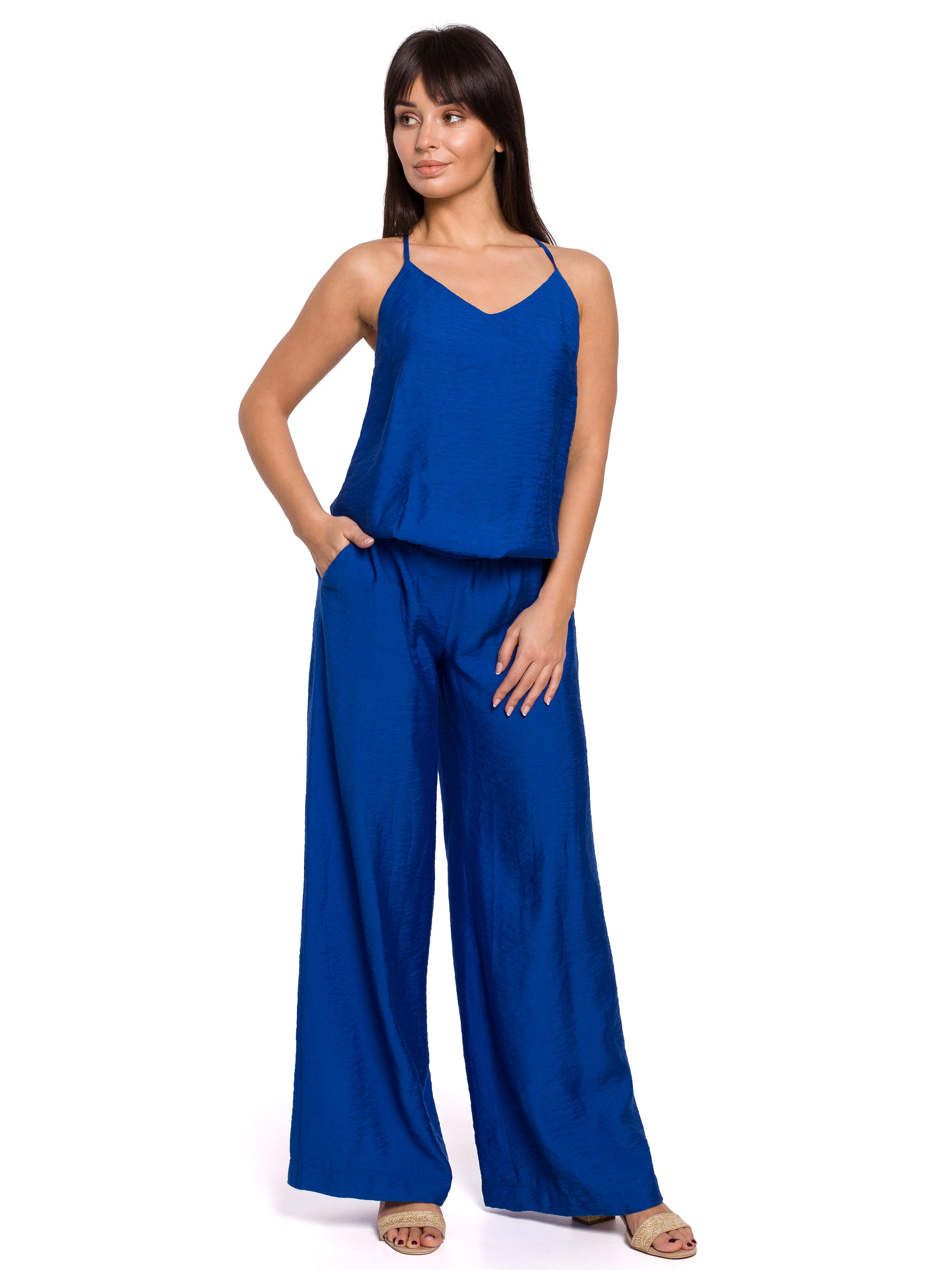 BE jumpsuit sininen B155