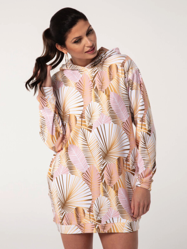 Mr Gugu Golden Laurels hoodie oversized dress