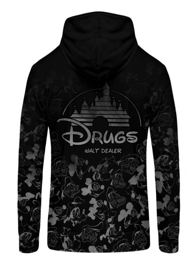 Mr Gugu Dark Walt Dealer zip-up hoodie