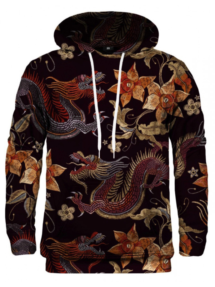 Mr Gugu Japanese Dragon hoodie