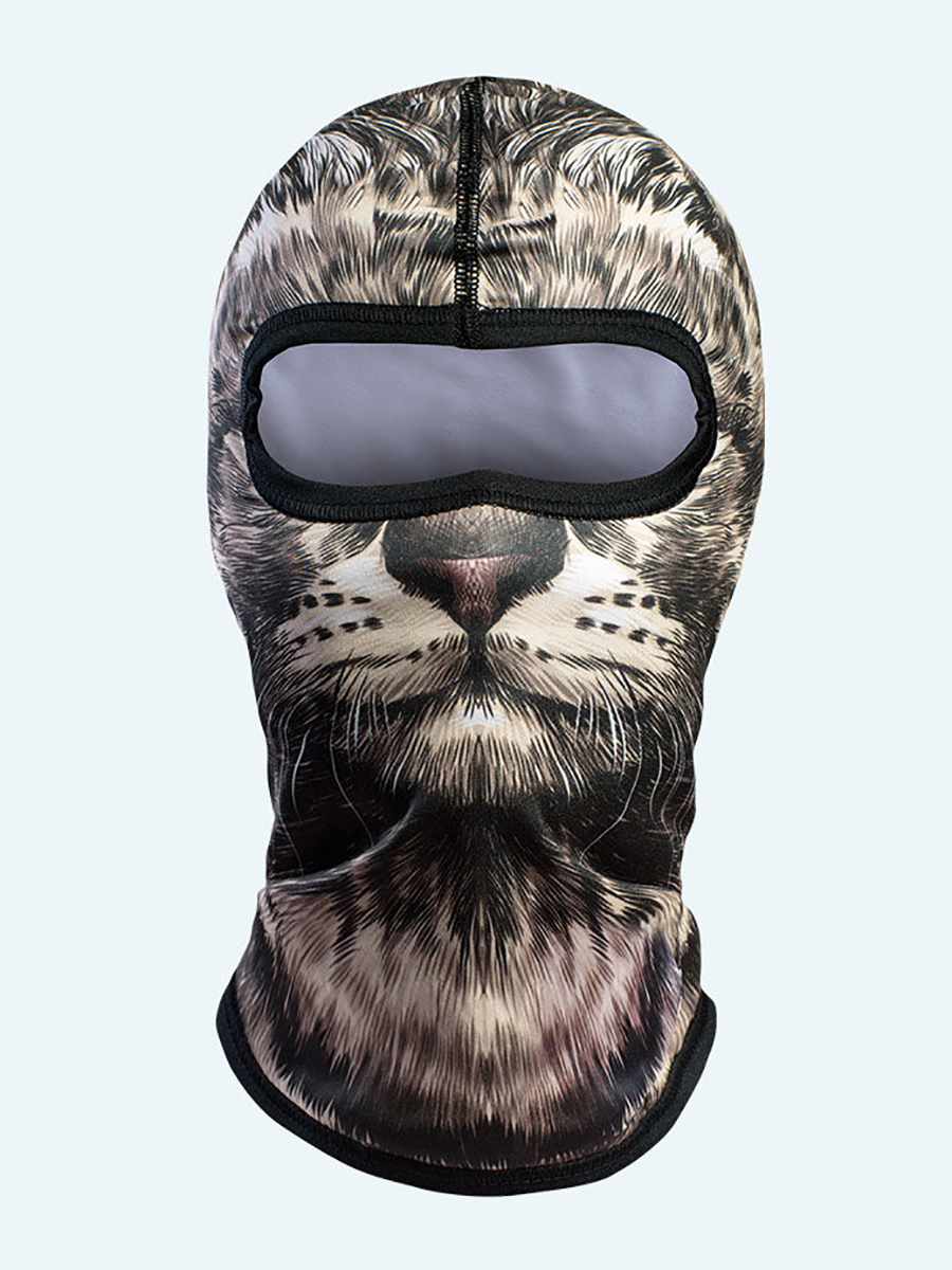 Humboo Snow Kids Balaclava Cat 07
