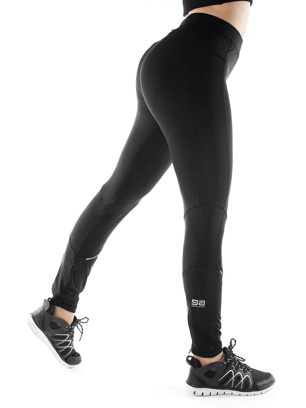 Gatta Runner leggings musta
