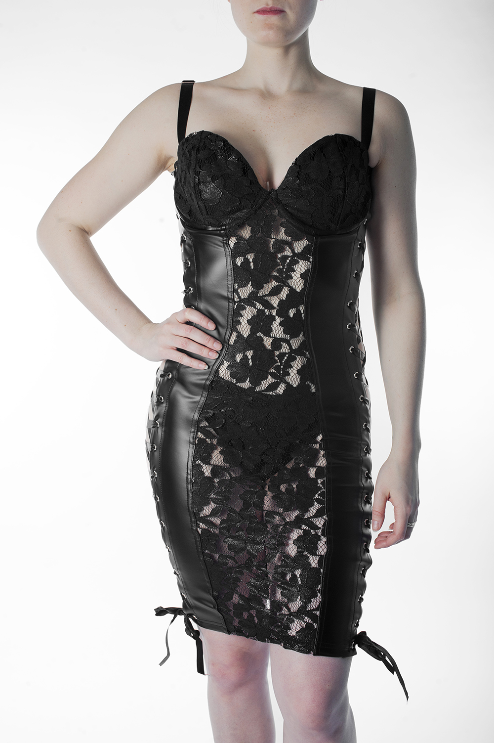 Noir Muse Dress F146
